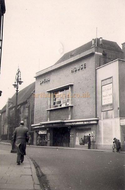 The Opera House, Coventry in around 1949-50 - Courtesy Allan Hailstone