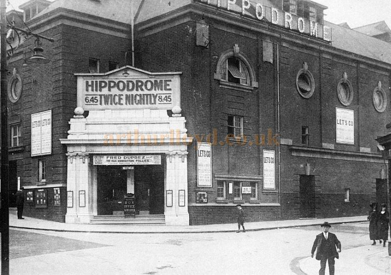 An early photograph of the Derby Hippodrome - Source unknown.