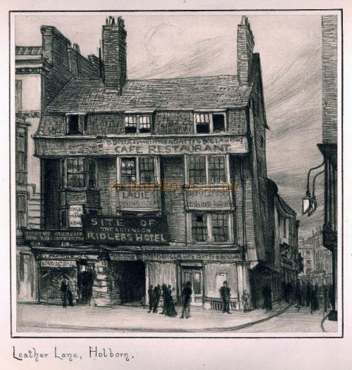 Leather Lane, Holborn
