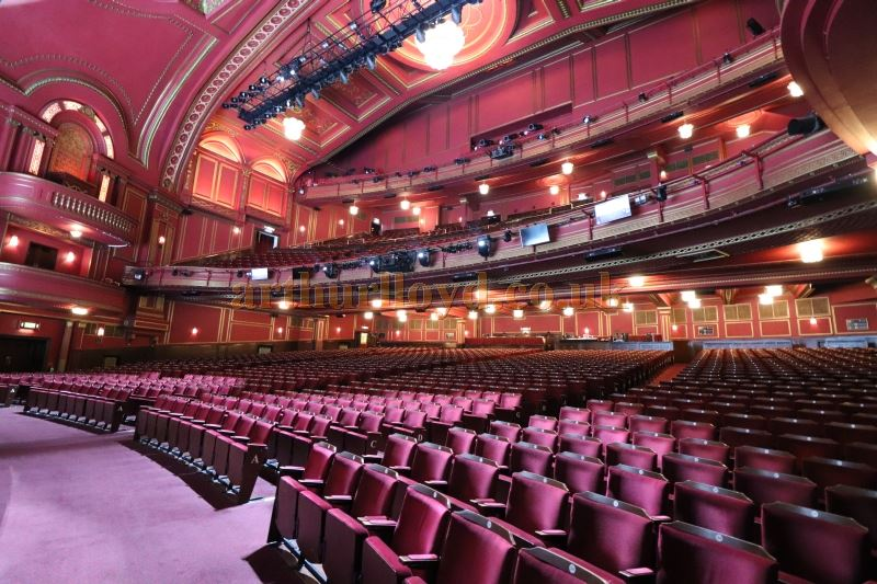 The Auditorium of the Dominion Theatre in August 2017 - Courtesy Christian Clark