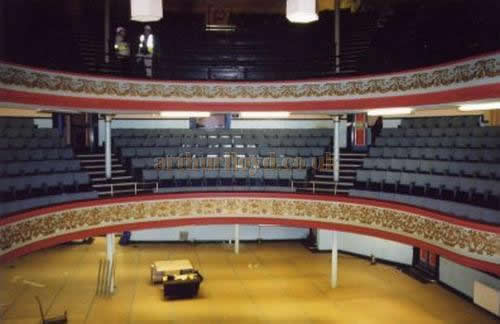 The Auditorium of the Grand Theatre, Doncaster - Courtesy 'The Friends of the Doncaster Grand'