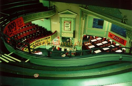 The Doncaster Grand laid out for Bingo in 1985 - Courtesy Ted Bottle.