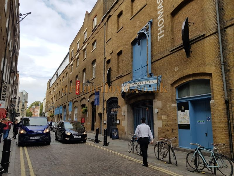 The Donmar Warehouse building in September 2018.