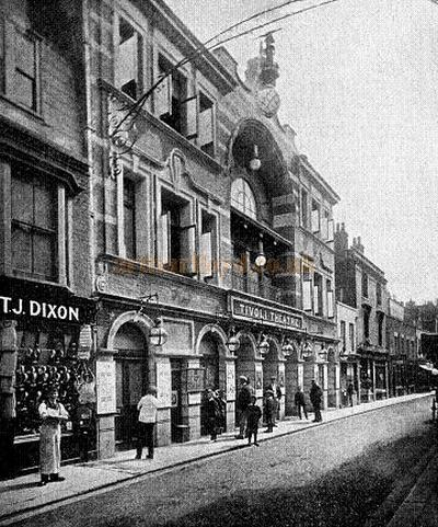 The Tivoli Theatre, Dover - From the Dover Observer of 1898