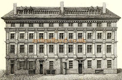 Craven House - From 'Antiquities of London and its Environs' by John Thomas Smith 1791.