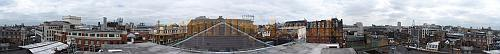360 view of London from the roof of the Theatre Royal Drury Lane - Click to enlarge.