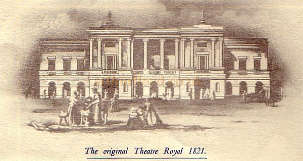 The Original 1821 Theatre Royal in Hawkins Street, Dublin