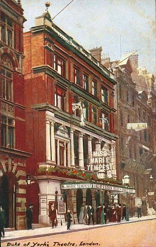 Postcard of the Duke Of York's Theatre 1910