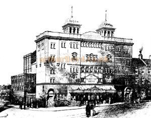 Grand Theatre, Clapham, 1st of December, 1900