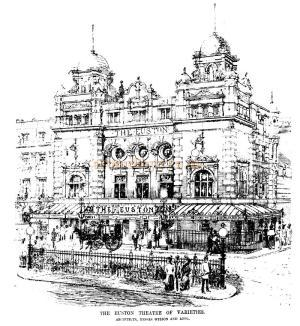 Euston Theatre of Varieties, London - 16th of June 1900