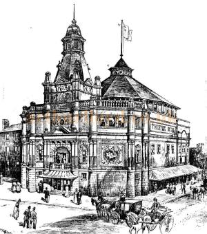 Grand Theatre, Southampton - 5th December 1898