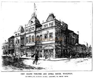 Grand Theatre, Woolwich, London - 20th of October 1900