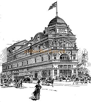 Palace Theatre, Blackburn, 9th December 1899