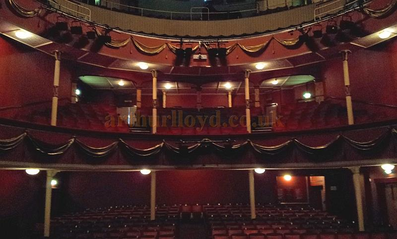 The auditorium of the Royal Hippodrome Theatre, Eastbourne, formerly the Theatre Royal, in September 2013 - Courtesy George Richmond.