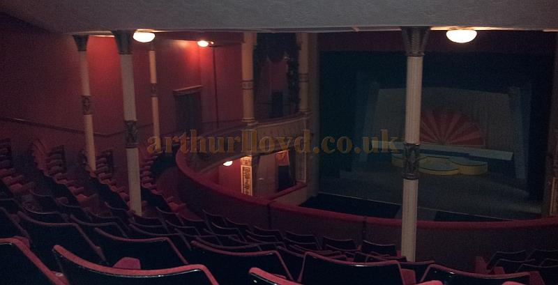 The auditorium and stage of the Royal Hippodrome Theatre, Eastbourne, formerly the Theatre Royal, in September 2013 - Courtesy George Richmond.