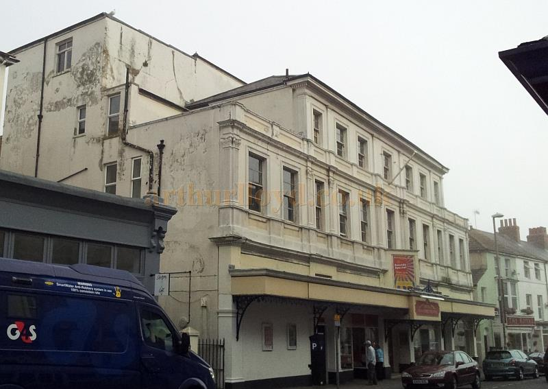 The Royal Hippodrome Theatre, Eastbourne in September 2013 - Courtesy George Richmond