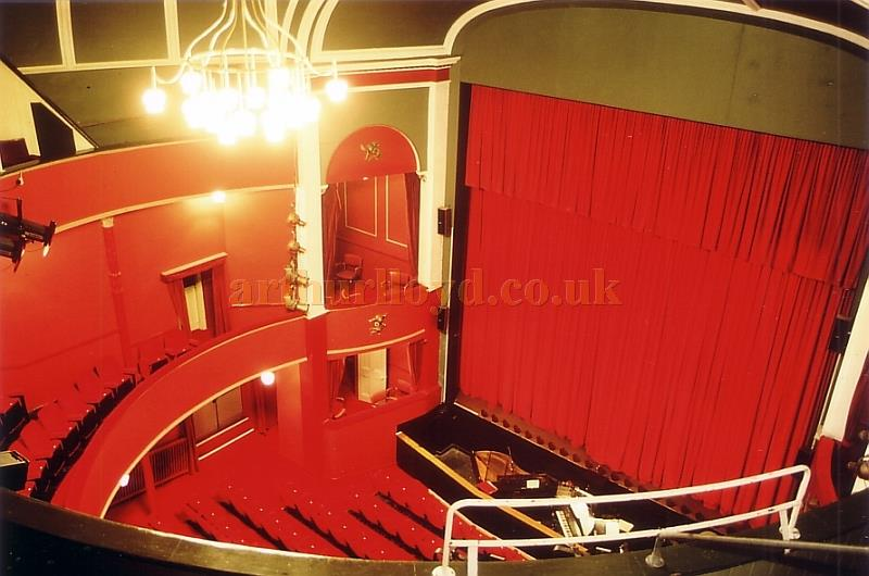 The Auditorium of the Royal Hippodrome, Eastbourne in 1989 - Courtesy Ted Bottle