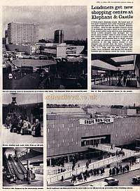 Article from the Illustrated London News of April the 3rd 1965 on the opening of the then new Elephant & Castle Shopping Centre - Click to Enlarge.