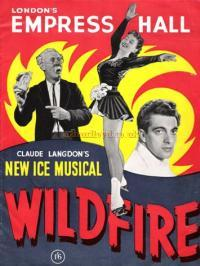 Programme for the Ice Musical 'Wild Fire' at the Empress Hall in the 1950s - Courtesy The Margaret and Brian Knight Collection.
