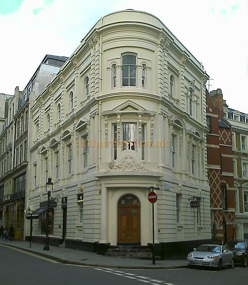 The building in Tavistock Street which was originally the offices of the ERA - Photo M.L. August 2008.