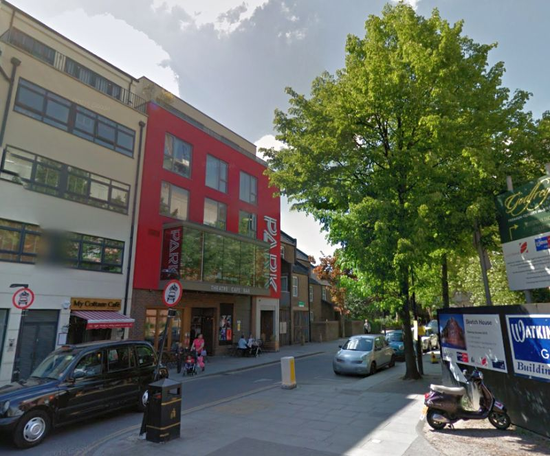 A Google StreetView Image of the Park Theatre, Finsbury Park - Click to Interact