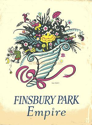 Programme for the Finsbury Park Empire 1939 - Courtesy Brian Kendal.