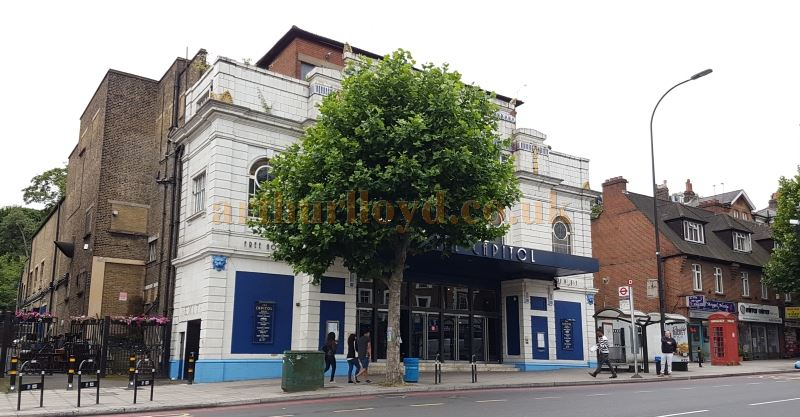 The former Capitol Theatre, Forest Hill - Today a Weatherspoon's Pub - Photo M.L. July 2017.