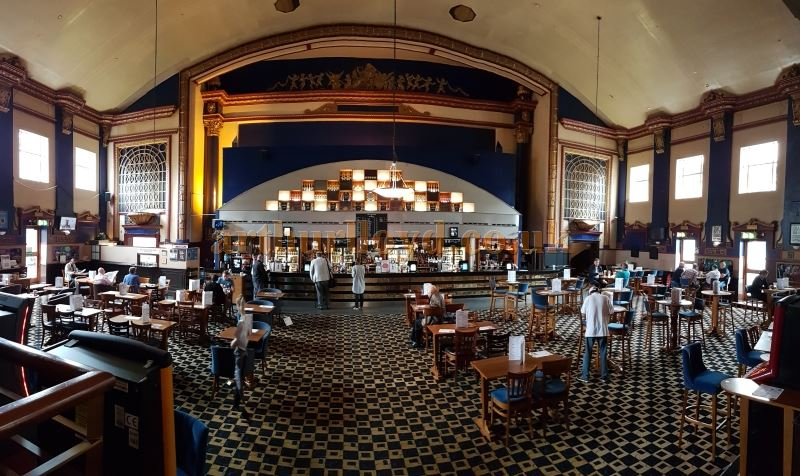 The auditorium and stage of the former Capitol Theatre, Forest Hill - Today a Weatherspoon's Pub - Photo M.L. July 2017.