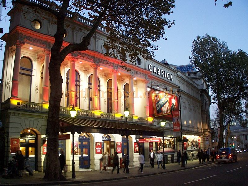 The Garrick Theatre during the run of 'The Scottsboro Boys' in October 2014 - Photo M. L.