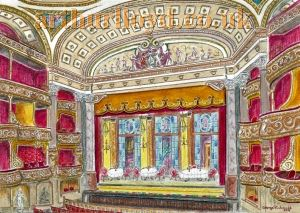 The Theatre Royal, Drury Lane in 1901