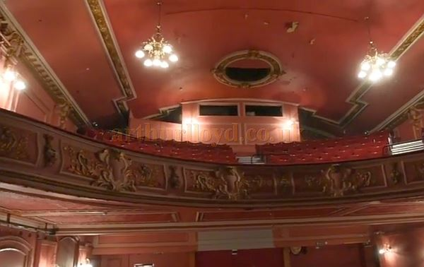 A recent image of the auditorium of the Olympus Theatre / Picturedrome, Gloucester.