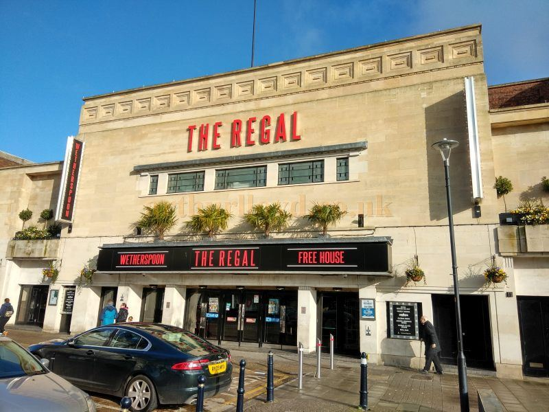 The former Regal Theatre, Gloucester in January 2018 - Courtesy Philip Paine.