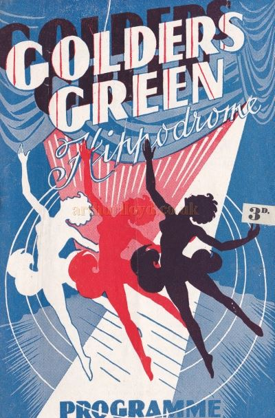 A Variety Programme from 1949 at the Golders Green Hippodrome.