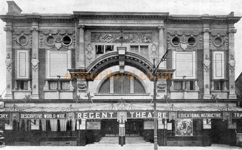 The Regent Theatre, Yarmouth - From the Supplement to The Cinema News and Property Gazette of July 31st 1924