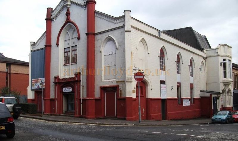 The Greenock Argyll Varieties building in its later years - Courtesy Viki McDonnell