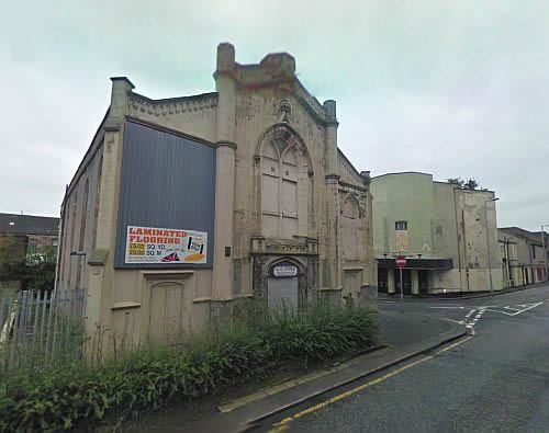 A Google StreetView Image of the former Argyle Theatre, Greenock - Click to Interact.