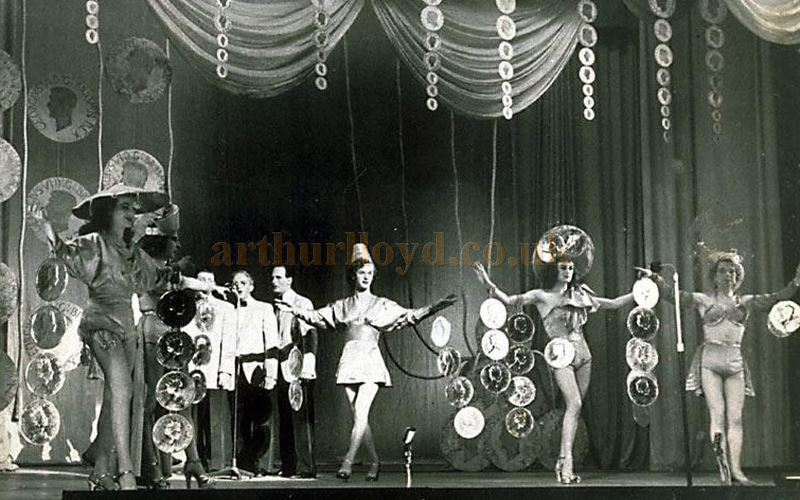 A Greenock Empire stage variety scene in the Coronation year 1937 - Courtesy Bob Bain