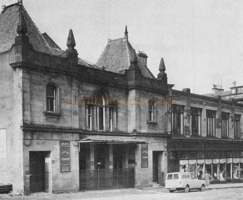 The Greenock Empire Theatre in the 1950s - Courtesy Graeme Smith.