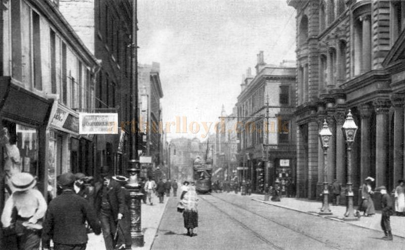 Hamilton Street, Greenock Circa 1907 - Courtesy Graeme Smith.