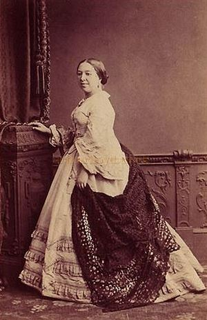 Louisa Pyne, singer and opera promoter - Courtesy Graeme Smith.