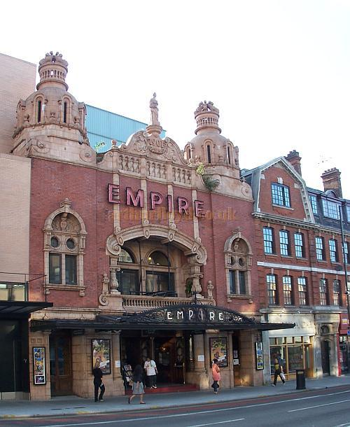 The Hackney Empire's original Matcham Facade in a photograph taken in August 2009 - Photo M.L.