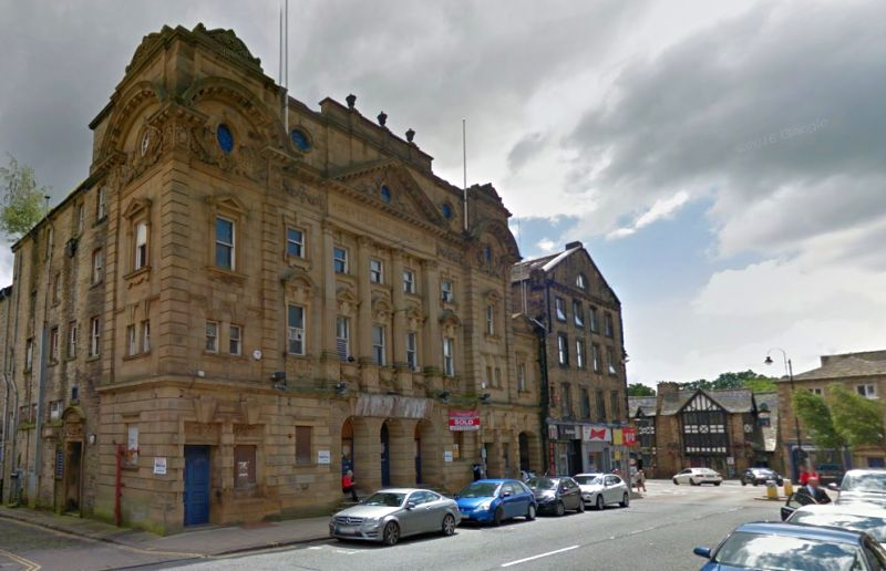 A Google StreetView Image of the Theatre Royal, Halifax - Click to Interact