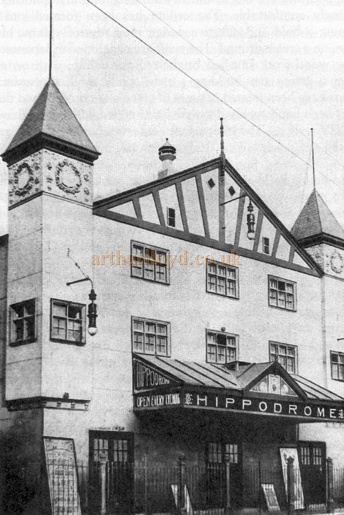 A photograph of the Hamilton Hippodrome - From 'The Lanarkshire Illustrated' Circa 1910
