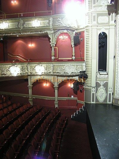 The auditorium of the Lyric, Hammersmith today - Courtesy The Lyric Hammersmith.