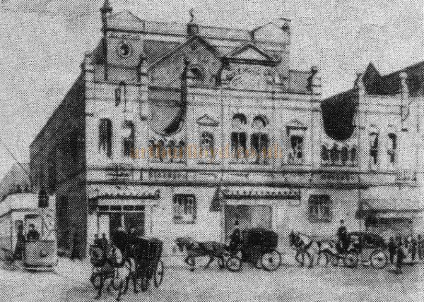 The Lyric Opera House, Hammersmith - From an early programme for the Theatre