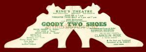 'Goody Two Shoes' at the King's Theatre Hammersmith.