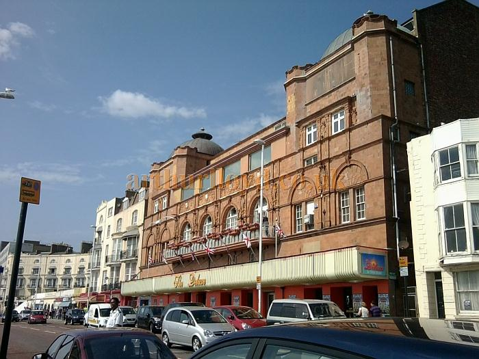 The former Empire / Hippodrome Theatre, Hastings in September 2012 - Courtesy George Richmond