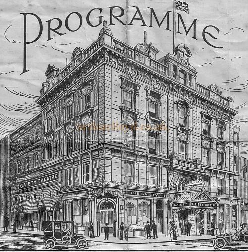 The Gaiety Theatre Hastings, from a programme October 25th 1926.