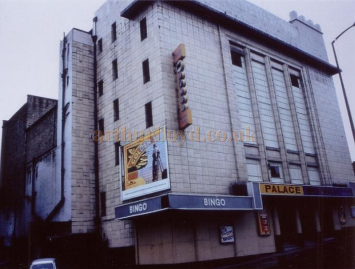 The Huddersfield Palace during its Bingo years in 1985 - Courtesy Ted Bottle