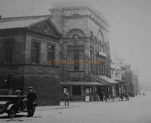 The Theatre Royal, Huddersfield - From a Postcard
